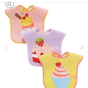 Mothercare cupcake bibs for 50p