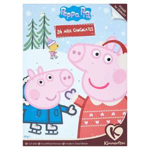 Peppa Pig Advent Calender Chocolate 25p @ Morrisons