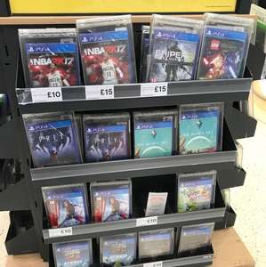 Reduced PS4 and Xbox One games instore at Tesco (megathread)