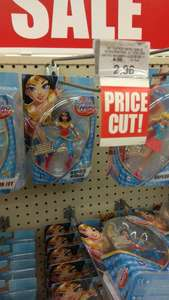 "Various DC Super Hero Girls 6"" figures from £2.96 @Toysrus in-store"