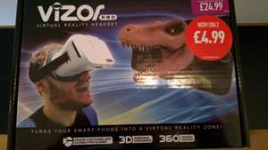 Vizor Pro VR Headset £4.99 instore at GAME,reduced from 24.99