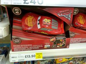 Disney Cars 3 Movie Moves Lightning McQueen Reduced from £29.95 to £13.50 In-store @ Tesco