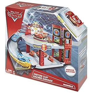 Disney Cars Piston Cup Racing Garage, £8.10 at Amazon Prime (£12.09 non Prime)