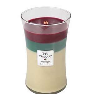 "WoodWick ""Trilogy Christmas Classic"" Jar Candle, Multi-Colour, Large - Boots Hamilton for £12.99 instore @ Boots"