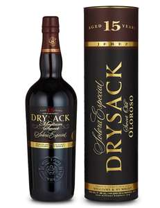 Dry Sack Solera Especial 15 Years Old Sweet Old Oloroso Sherry Instore only. £10 @ M&S