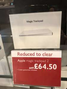 Apple Magic Trackpad 2 ½ price at John Lewis Westfield City £64.50