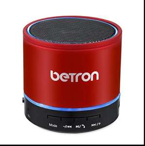 Betron Wireless Portable Travel Bluetooth Speaker (lots of colours, tons of good reviews) £8.26 Prime £12.25 with delivery Sold by Betron Limited ( VAT Registered) and Fulfilled by Amazon.