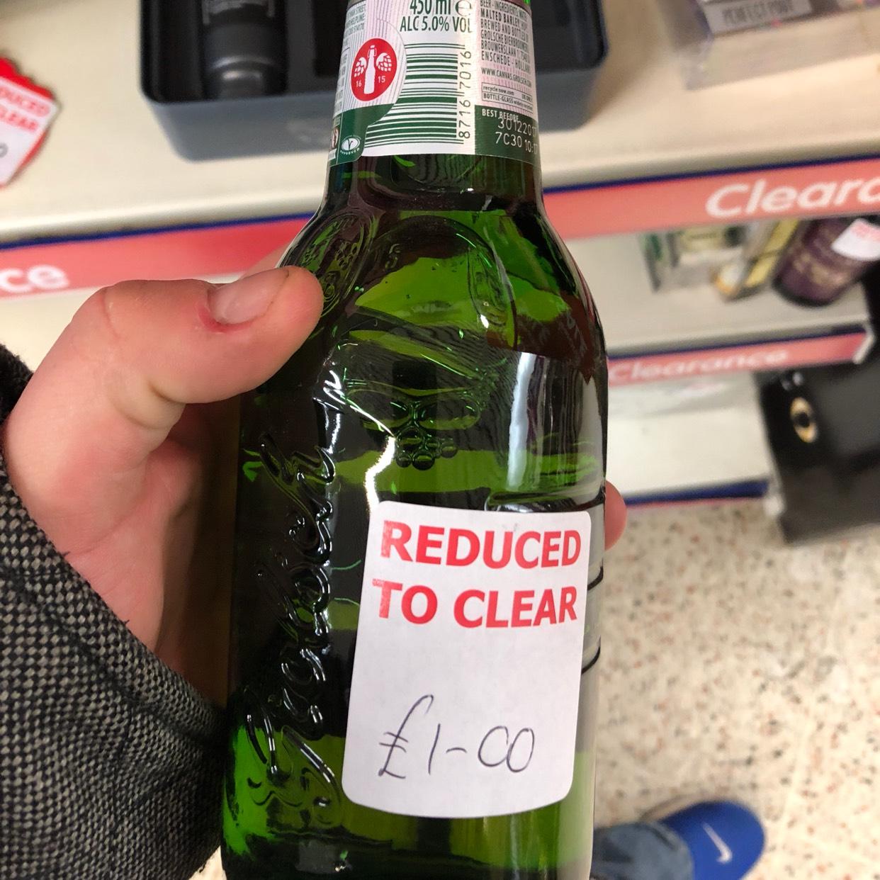 Grolsh (bottles useful for Homebrew!) £1 in B&M