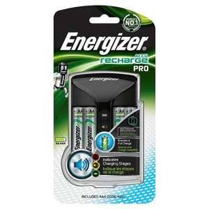 Energizer Pro Charger Plus 4X2000mah Uk £13.50 @ Tesco