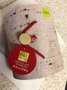 M&S Chocolate Marbled Mallows reduced was £6 now £1.40