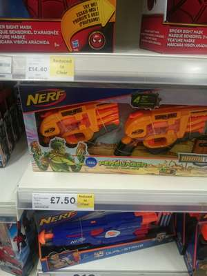 Nerf Doomlands Persuader 2 Pack tesco in store only £7.50