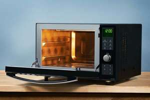 Panasonic NN-DF386BBP Freestanding 3-in-1 Combination Microwave Oven with Grill, Black @ 178 £ at Costco Reading