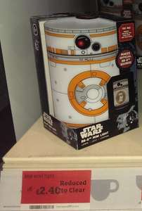 Star Wars BB8 Mini Light £2.40 @ Sainsbury's instore