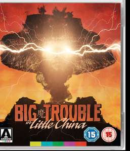 Big Trouble In Little China blu ray - only £7.50 in Arrow sale (85p postage)