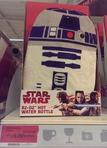 R2-D2 Hot Water Bottle £4.20 @ Sainsbury's instore