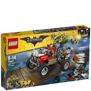 LEGO Batman: Killer Croc Tail-Gator (70907) £34.99 @ Zavvi
