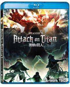 ATTACK ON TITAN - Season 2 Pre-Order (Blu-ray) £22.50 with SIGNUP10 code (£25 without code) - (RRP £36.99) @ Zoom