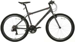 Carrera Axle 21 speed, aluminium frame hybrid bike down from £330 to £198 at Halfords.