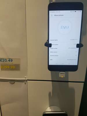 Huawei P10 for £299.99 + £10 top @ EE instore