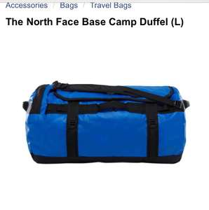 The North Face Base Camp Duffel (Large) Blue @ Wiggle for £69