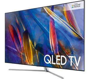 "SAMSUNG QE55Q7FAM 55"" Smart 4K Ultra HD HDR QLED TV £1,299 + £100 off XBOX ONE X @ Currys"