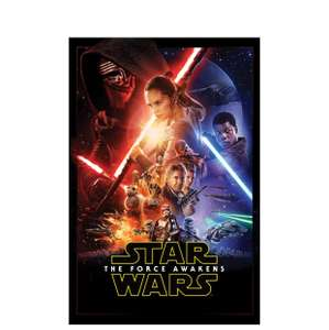 Star Wars The Force Awakens - Large Wall Canvas - £7 C&C @ B&Q