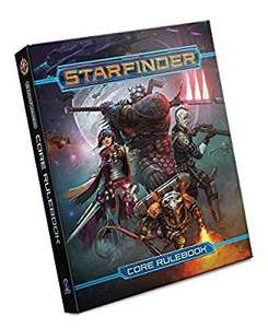 Starfinder Core Rulebook -35% £35.09 down from 53.99 - Amazon