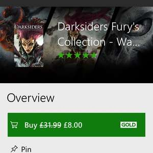Darksiders: Fury's Collection (Xbox One) £8 @ Microsoft Store