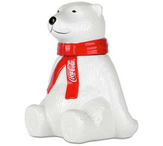 Coca-Cola Polar Bear Storage Jar £4.49 (c&c) @ Argos (75% off RRP)