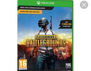 Playerunknown's battlegrounds digital download for Xbox one - £22.04
