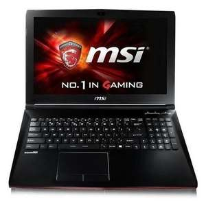 MSI GP62MVR 7RFX Core i5-7300HQ 8GB 1TB + 256GB SSD GeForce GTX 1060 3GB 15.6 Inch Windows 10 Gaming Laptop - £949.97 @ Laptops Direct