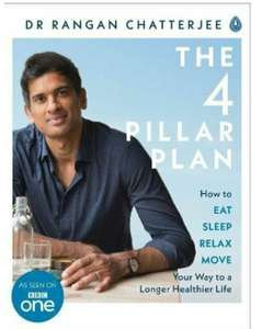 The 4 Pillar Plan. 35% off on Amazon. Healthy change for 2018 and on! - £8.49 Prime / £11.48 non Prime @ Amazon