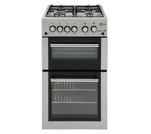 Currys FLAVEL MLB51NDS Gas Cooker in silver. - £229.99 + Delivery included.