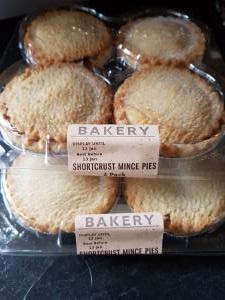 Sainsbury's Bakery Mince pies 30p