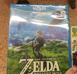 Zelda Breath Of The Wild Wii U ASDA Clearance £15 instore