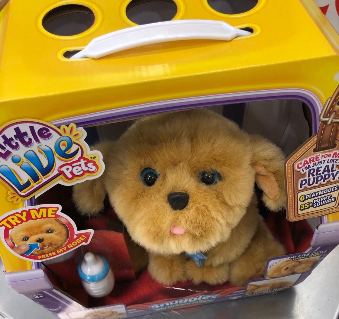 My Dream Puppy Snuggles - £27.50 instore @ Tesco