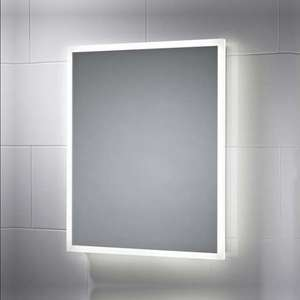LED Illuminated Bathroom Mirror with Demister Pad £21.59 delivered using code @ Pebble Grey