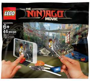 £4.99 for 2 bags of lego ninjago movie maker set @ Argos
