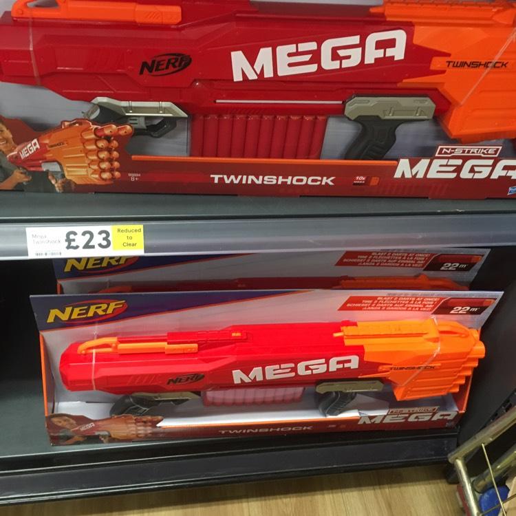 Nerf mega twinshock - £23 instore @ Tesco