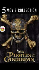 Pirates of the Caribbean 5 movie collection - £26.99 @ Google Play