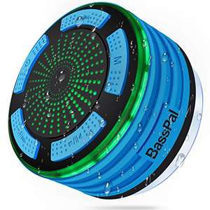 Basspal shower speaker £27.99 Sold by BassPal Direct and Fulfilled by Amazon