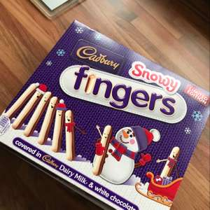 Cadbury Snowy Fingers 75p Tesco Metro Greenford