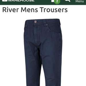 River Men's Trousers only £5.59! + £2.50 C+C / £4.50 delivery @ Mountain Warehouse