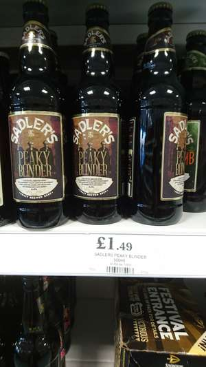 Peaky blinder ale 500ml - £1.49 instore @ home bargains (prenton)
