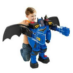 Imaginext DC Super Friends Batbot Xtreme  (Open Box) £25 Reduced Smyths Toys Birstall
