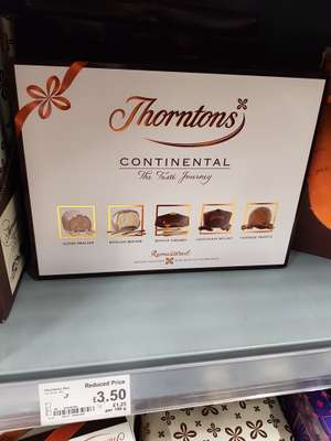 Thorntons Continental 284g £3.50 instore @ Asda