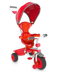 Yvolution Strolly Spin Trike - Red £45 down from £89.99 @ ELC