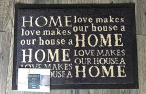 Tesco Home Barrier Doormat - a deal to walk all over! £1.25