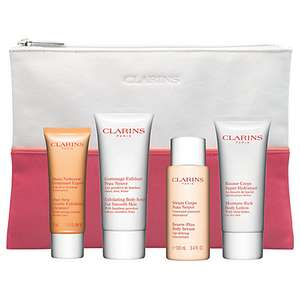Clarins Skincare Heroes Gift Set for £30 - John Lewis
