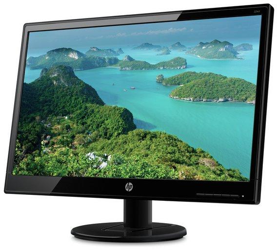 HP 22KD 22 Inch Monitor £59.99 + £10 Argos Voucher via Vouchercodes Link @ Argos (C+C)